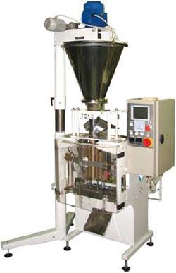Фасовочно-упаковочный автомат У-03 серия 055 с объемным шнековым дозатором и пневмоприводом