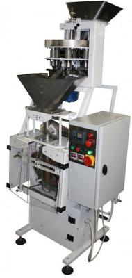 Автомат фасовочно-упаковочный с объемным стаканчиковым дозатором