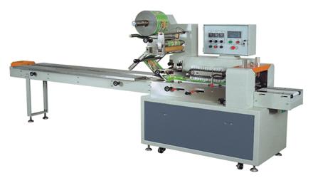 Горизонтальный упаковочный автомат DCWB-400