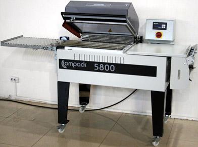 Термоусадочная упаковочная машина COMPACK 5800МС