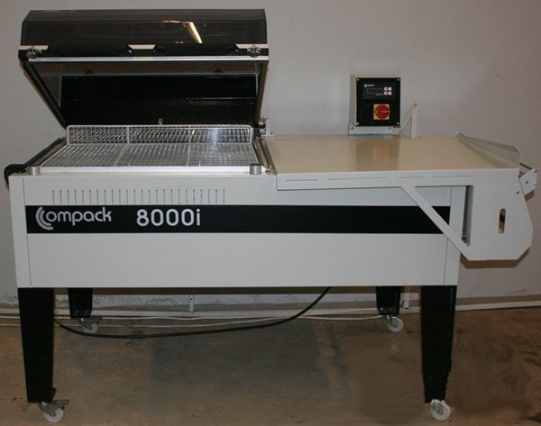 Термоусадочная упаковочная машина COMPACK 8000