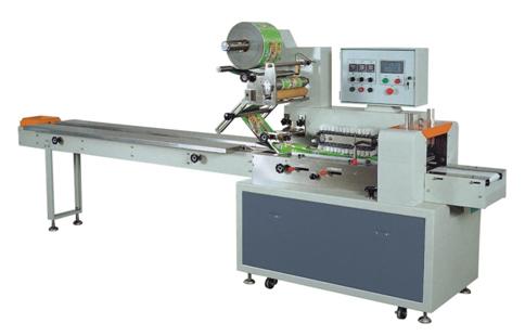Горизонтальный упаковочный автомат (линия) DCWB-400