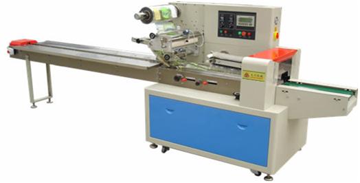 Горизонтальный упаковочный автомат DCWB-450D