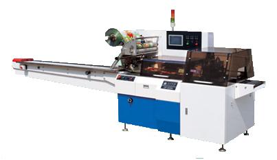 Горизонтальный упаковочный автомат (линия) DF-450W, DF-480, DF-480, DF-600, DF-600W