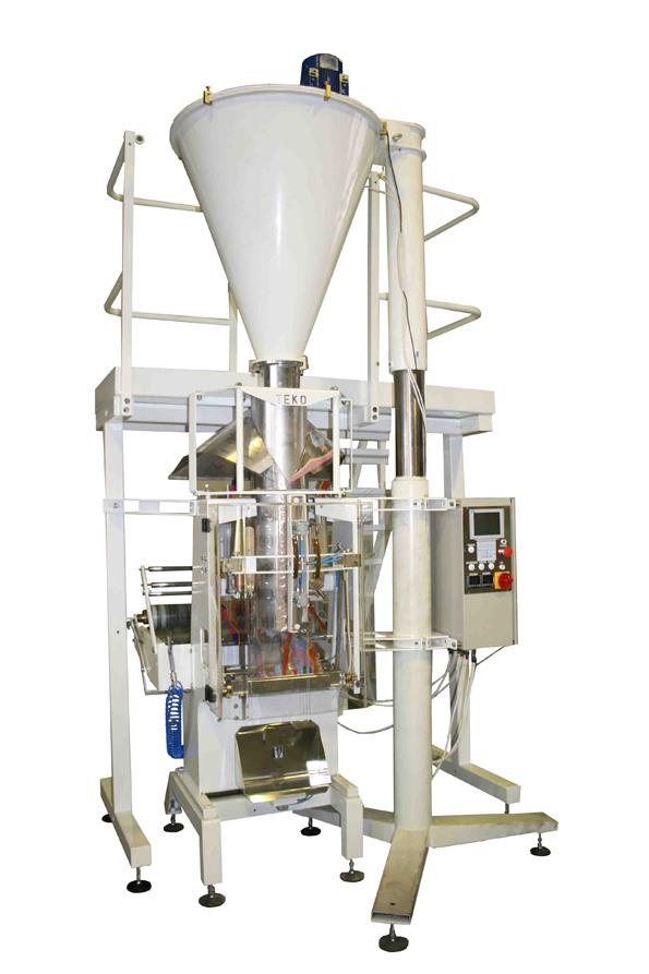 Фасовочно-упаковочный автомат У-03 серия 057 с объемным шнековым дозатором и пневмоприводом