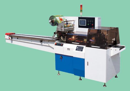 Горизонтальный упаковочный автомат DF-600W